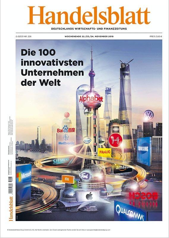 Die innovativsten Unternehmen der Welt
